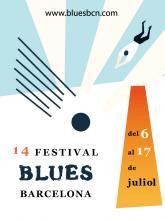Cartell Festival de Blues de Barcelona 2016